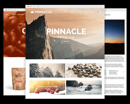 Pinnacle Premium WordPress Theme