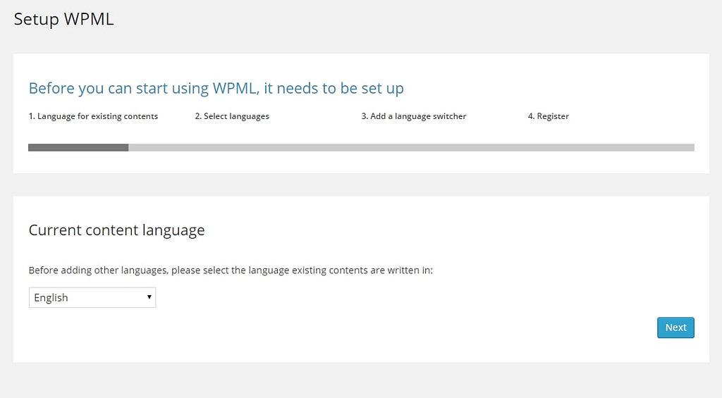 wpml current language settings