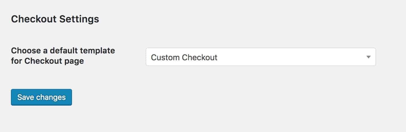 assign checkout template kadence themes woocommerce elementor
