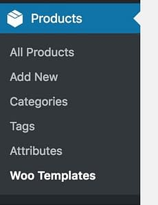 Products WooTemplates