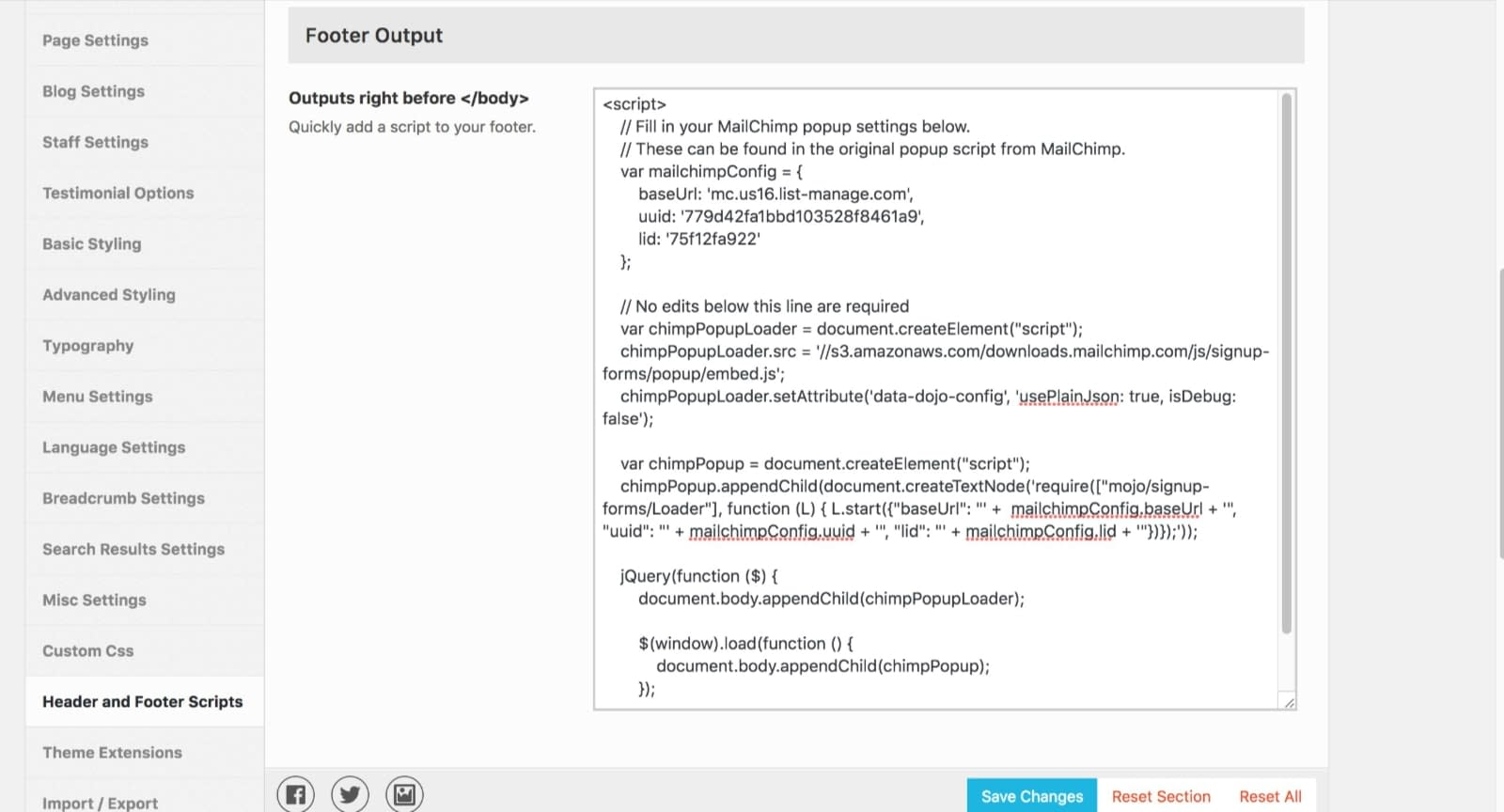 popup-script-placed-in-footer-kadence-themes