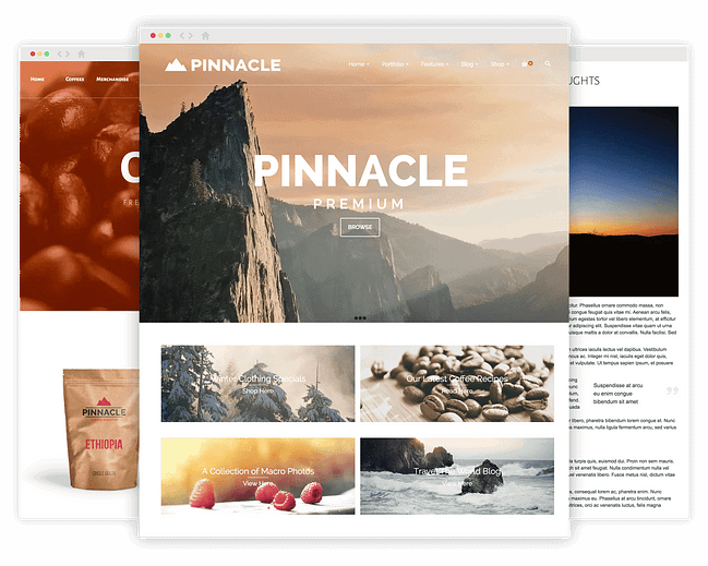 Pinnacle Premium WordPress Theme by KadenceWP