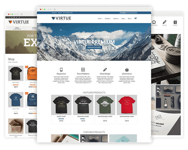 Virtue Premium WordPress Theme by KadenceWP