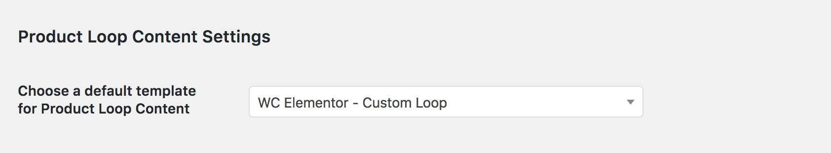 Assign Loop Template
