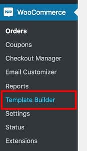 WooCommerce Template Builder Admin