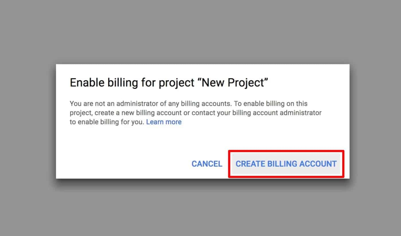create billing with google kacence themes
