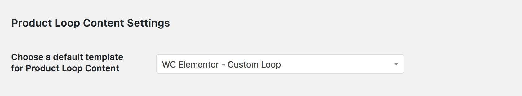 Assign Loop Template