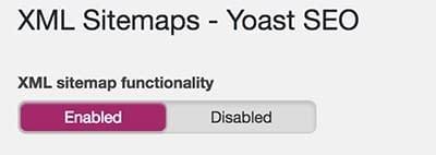 Yoast SEO Sitemaps